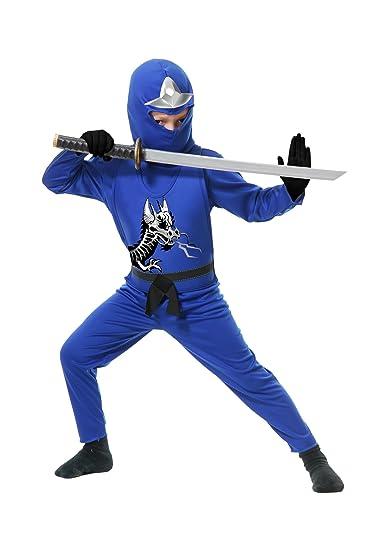 Amazon.com: Ninja Avenger II, con armadura, Azul, Niño XS ...