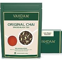 VAHDAM, India's Original Masala Chai Tea Loose Leaf - 50 cups, 3.53oz - Blend of Black Tea, Cinnamon, Cardamom,Cloves…