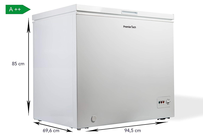 Premiertech - Congelador de cubo de 200 litros con cesta, -24 ...