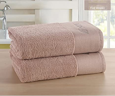 Toallas cómodas toallas suaves Cinco Estrellas Hotel toalla de baño de algodón adulto Aumentar espesamiento suave