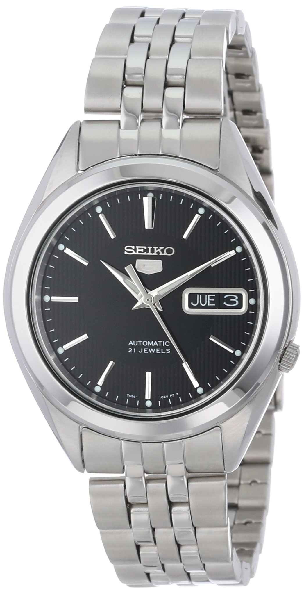 5 Men's SNKL23 Stainless Steel Automatic Casual Watch