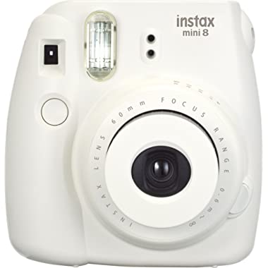 Fujifilm Instax Mini 8 Instant Film Camera (White) (Discontinued by Manufacturer)