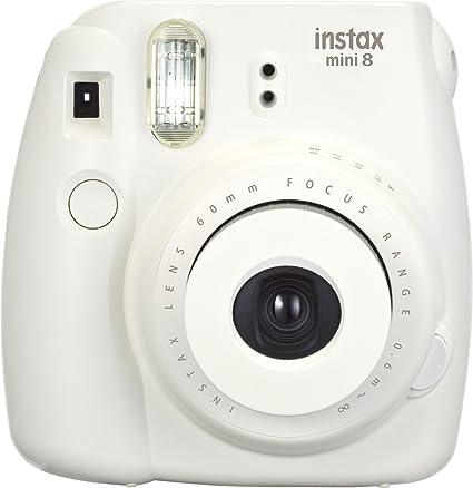 .com : fujifilm instax mini 8 instant film camera (white ...