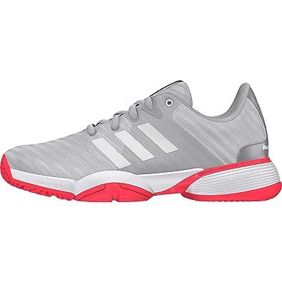 detailed look f7d8d 572d1 adidas Barricade 2018 Xj Chaussures de Tennis Mixte Enfant Amazon.fr  Chaussures et Sacs