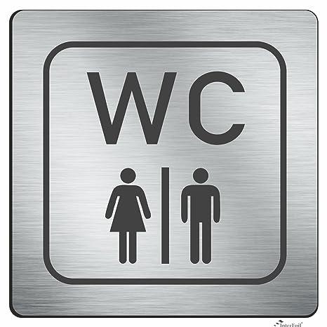 Interfoil® WC Cartel - Baños De Hombre y Mujer, direk Truck ...