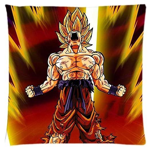 Dragon Ball Z Son Goku Saiyan personalizado manta funda de ...
