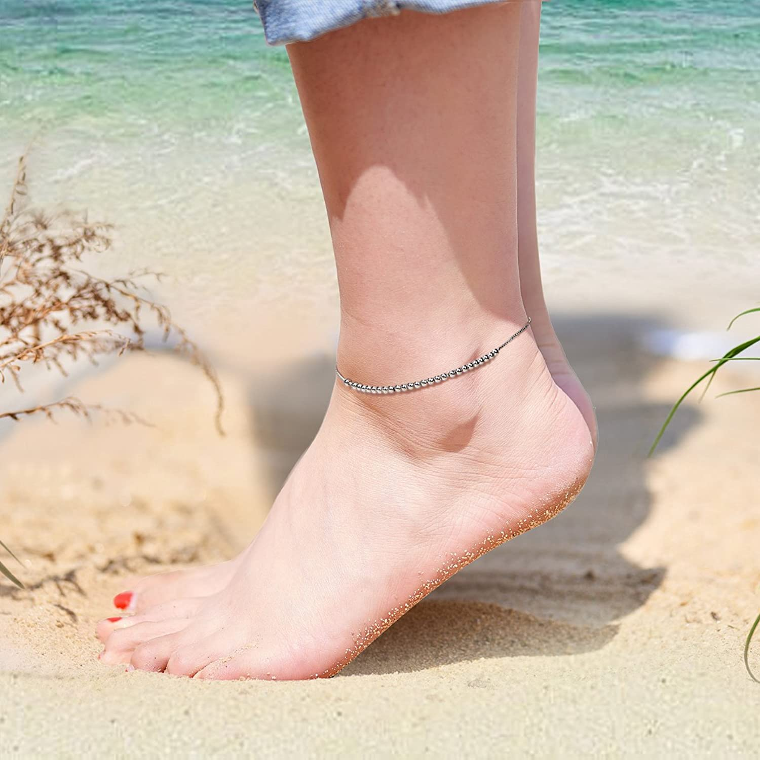 wife anklet gallery photo flower bracelet il boho for fullxfull women listing beach ankle