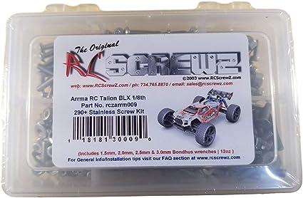 #AR106030 arrm009 RCScrewZ Arrma RC Talion 1//8th Stainless Steel Screw Kit