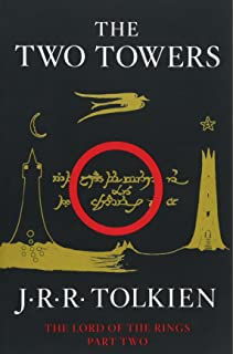The lord of the rings jrr tolkien 9780544003415 amazon books the two towers being the second part of the lord of the rings fandeluxe Image collections