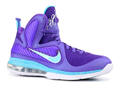 low priced 742cd 1d4e3 Nike Lebron 9 Men s Fashion Sneakers Pure Purple Turquoise Blue- White  469764-500