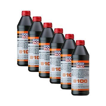 6 x Liqui Moly 3640 doble kupplungs Engranaje de aceite 8100: Amazon.es: Coche y moto