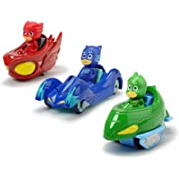 Dickie Pj Masks 3 Vehicle Playset - 3 Years and above