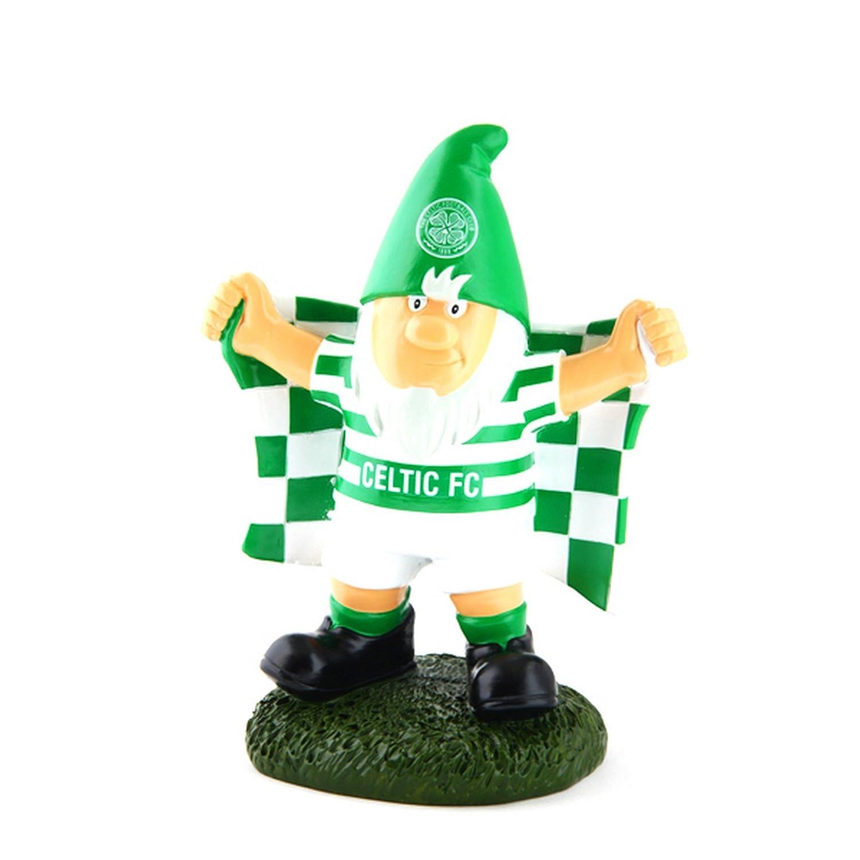 Celtic FC Official Champ Football Crest Garden Gnome UTSG9057_1