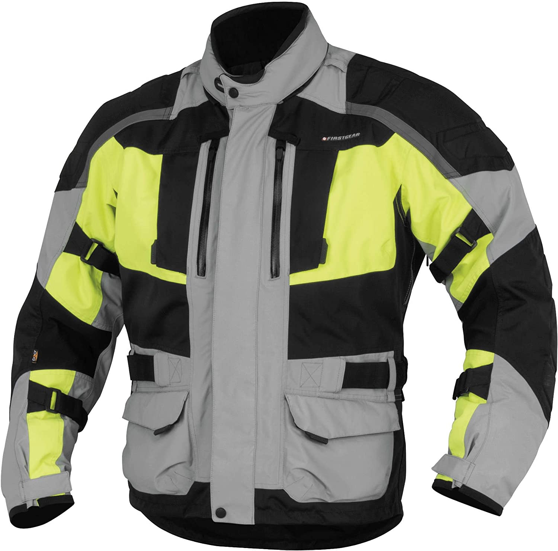 GREY//DAYGLO Firstgear Kathmandu Jacket LARGE