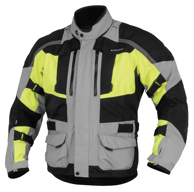 Firstgear Kathmandu Jacket (LARGE) (GREY/DAYGLO)