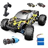 DEERC Brushless RC Cars 300E 60KM/H High Speed Remote Control Car 4WD 1:18 Scale Monster Truck for Kids Adults, All Terrain O