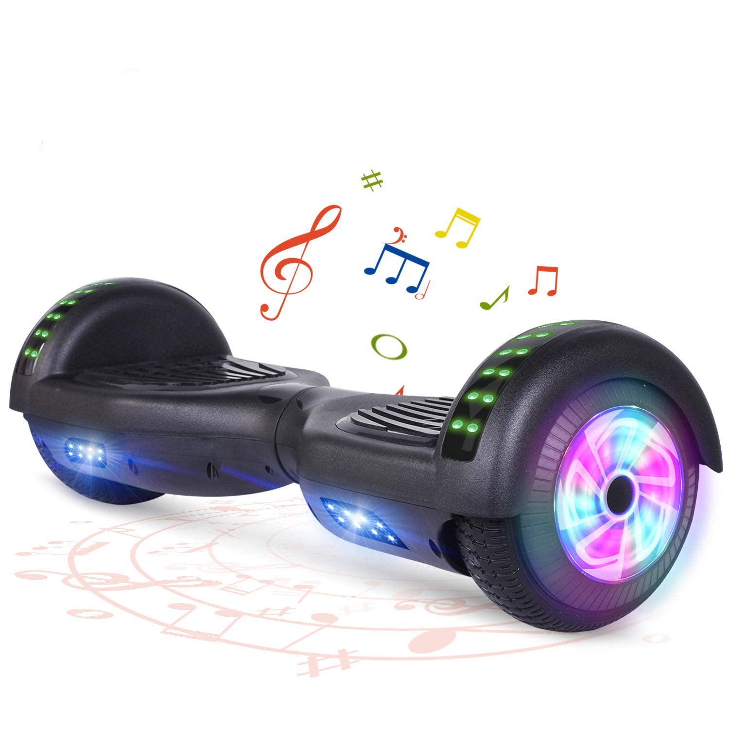 """FLYING-ANT Hoverboard 6.5"""" Two-Wheel Self Balancing Hoverboard"""