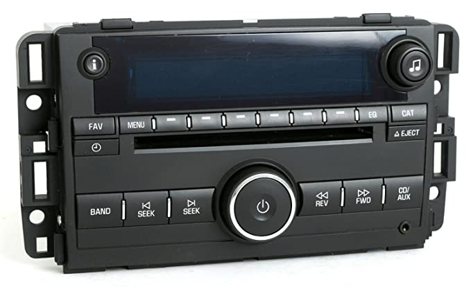 2007 2008 Chevy Monte Carlo Impala Radio AMF M CD W Aux Input 15850678 Unlocked