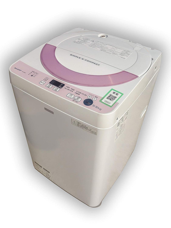 D▼シャープ 洗濯機 2016年 5.5kg Ag+イオンコート 風乾燥 ステンレス槽 ES-G55RC (12331)   B07HFMVKH7