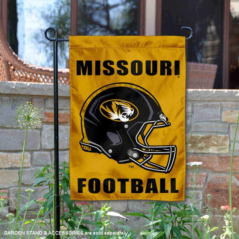 Mizzou Football Garden Flag and Yard Banner