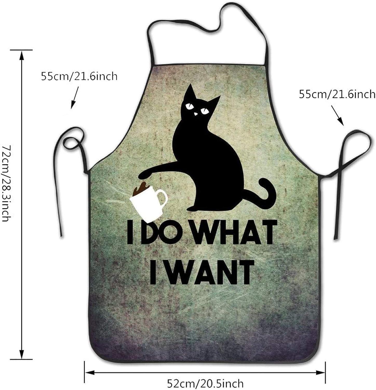 Useful Cartoon Kitchen Cooking Apron Rabbit Household Sleeveless Pocket