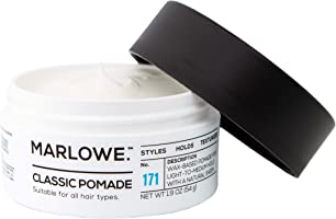 MARLOWE. Classic Pomade for Men No. 171 | 1.9 oz | Light to Medium Hold | Matte Finish | Styles, Holds, Texturizes with...