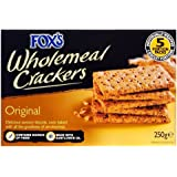 Fox's Original Wholemeal Crackers (250g)