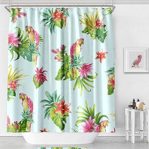 Waterproof Bathroom Shower Curtain Print Art Curtain With Hooks Home Decor