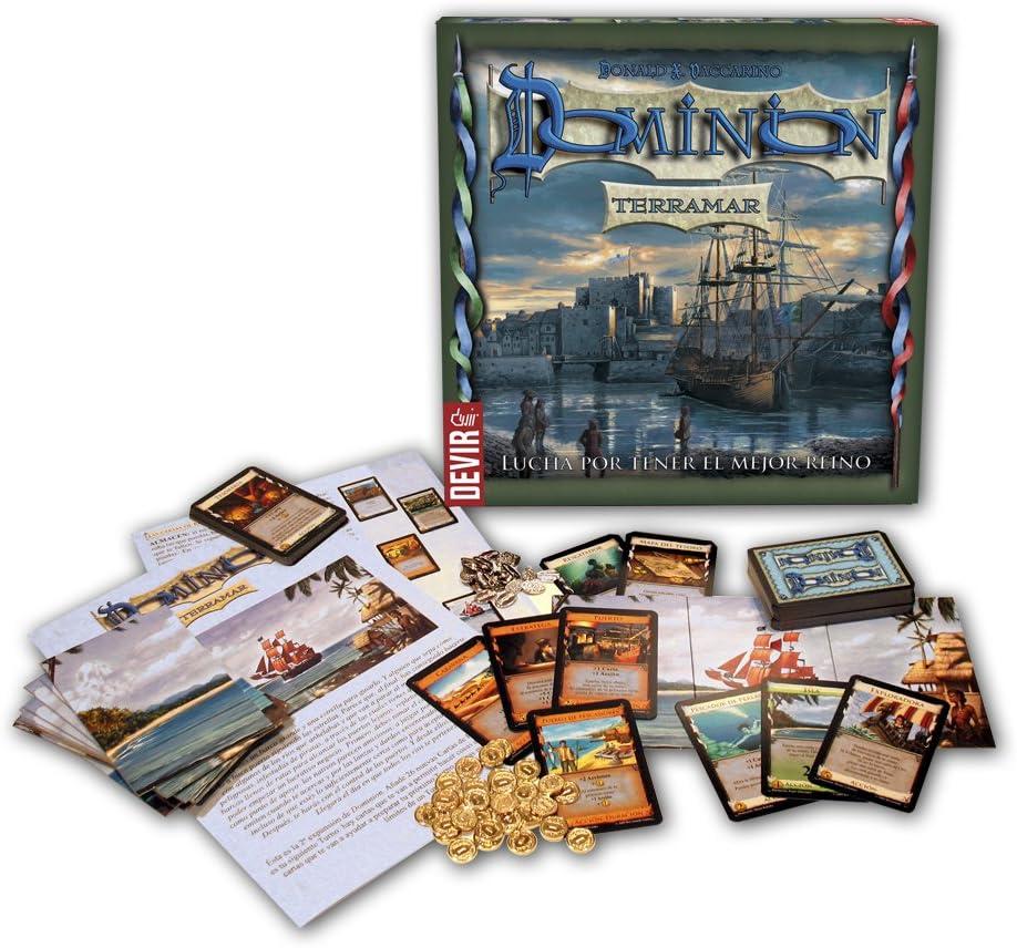 Devir- Dominion Terramar (BGTERRA): Amazon.es: Juguetes y juegos