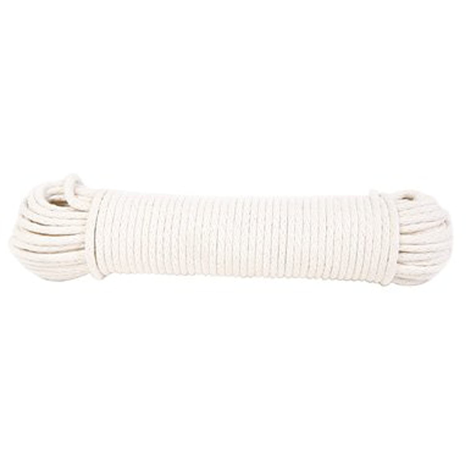 Natural 1//4-Inch by 50-Feet Koch Industries 5600824 Hank Cotton Polypropylene Solid Braided Sash Cord