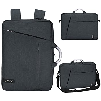 Amazon.com: S-ZONE Laptop Briefcase Backpack Convertible Laptop ...