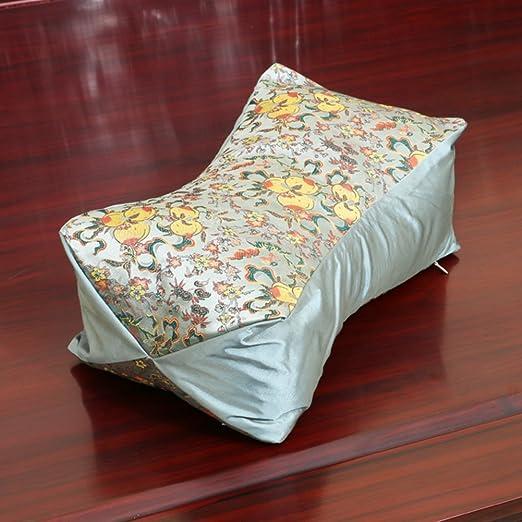 Almohada de brocado de seda chino/ las restricciones del ...