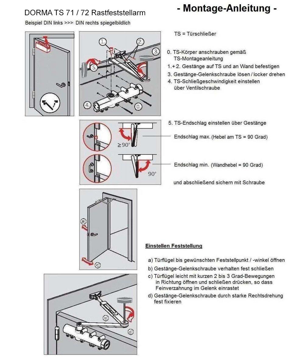 Dorma ts 71 instrucciones