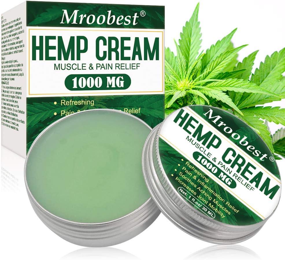 Hemp Cream, Crema De Cáñamo, Bálsamo de cáñamo, Gel De Cáñamo, Crema de Cáñamo con 3500 mg, Extracto de Cáñamo para Aliviar Dolor Articulaciones y Músculos y Articulacion - 30 ML