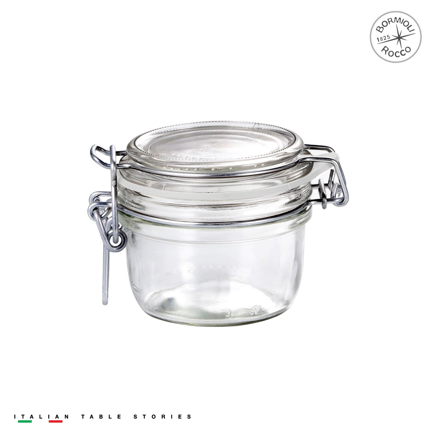 Bormioli Rocco Fido Clear Jar, 4.25 Oz. Bormioli Rocco Glass Co. Inc. 141370M04321990