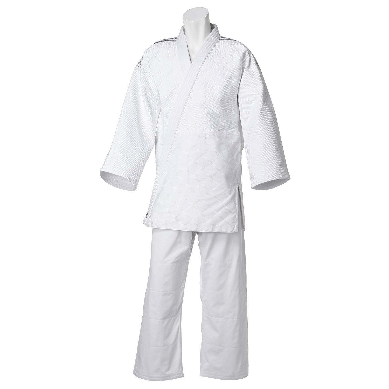 adidas(アディダス) 185 柔道着(上下セット 帯なし) J650SP 185 J650SP White Silver(014) 帯なし) B07P1SFBB4, あっぷる坊や:d28ce475 --- capela.dominiotemporario.com
