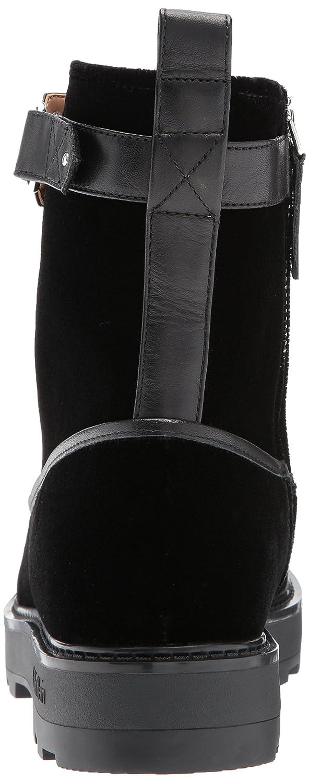 Clarks Women's Leisa Cacti Flat Q Flat Cacti Sandals B00MV9YLK8 6.5 W US|Black Leather 61f7c9