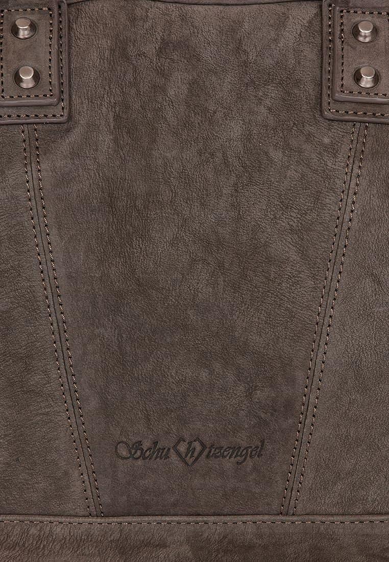 Damen-accessoires Kleidung & Accessoires Schuhtzengel Damen Geldbörse Fee Nubuk Leder Chocolate Neu