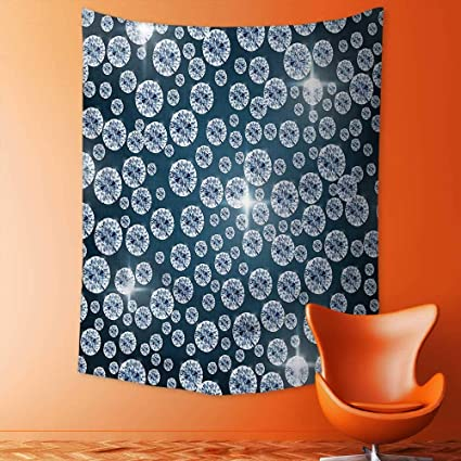 4a162e5fdf aolankaili Wall Hanging Tapestries Wall Art Tapestries Wall Tapestries  Diamonds Backdrop Carbon Atoms in Cubic Structure