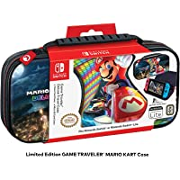 Officially Licensed Nintendo Switch Mario Kart 8 Deluxe Carrying Case – Protective Deluxe Travel Case with Adjustable…