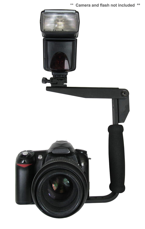 '新しい'フラッシュブラケット(PivPo Pivoting Positioning) 180度(Panasonic Shoe) B004D9IR2W