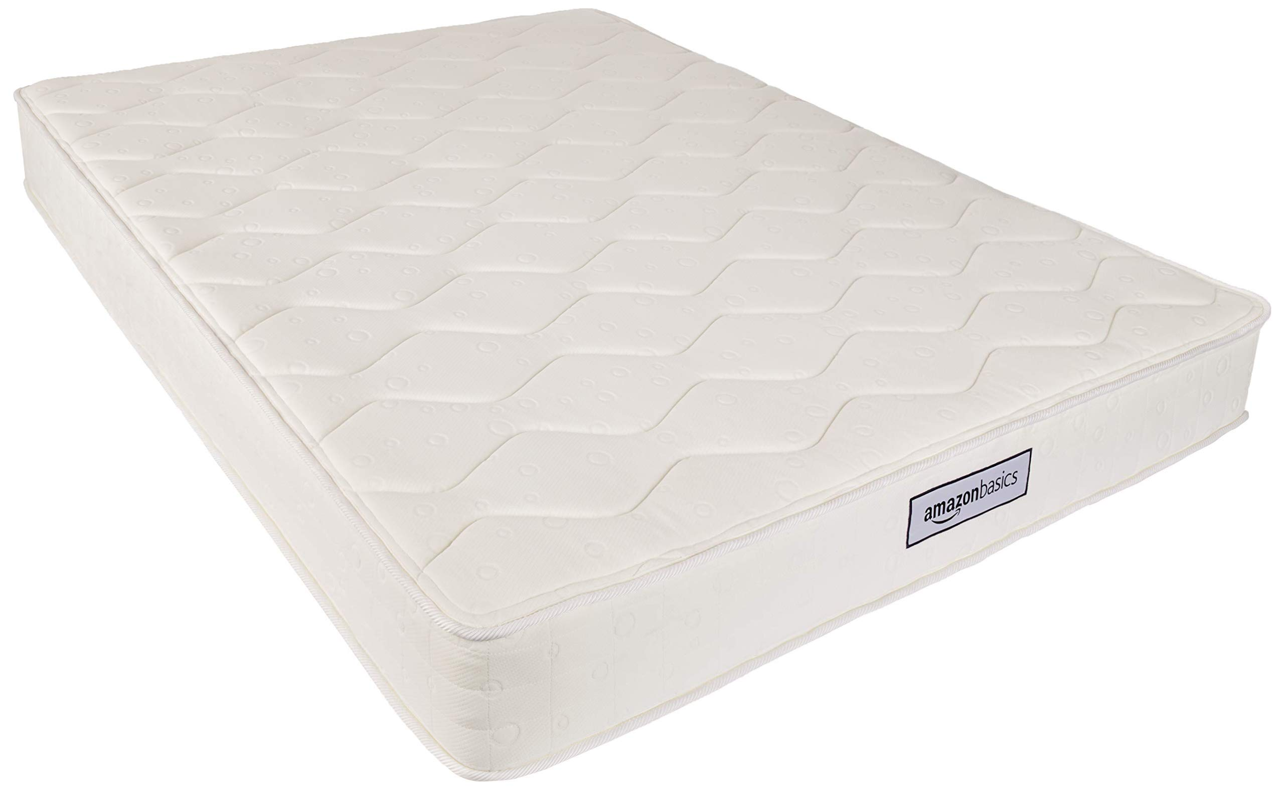 AmazonBasics Coil Mattress in a Box - Features Individual Pocket Spring for Motion Isolation, High-Density CertiPUR-US Certified Foam Layer - 8-Inch, Queen by AmazonBasics (Image #2)