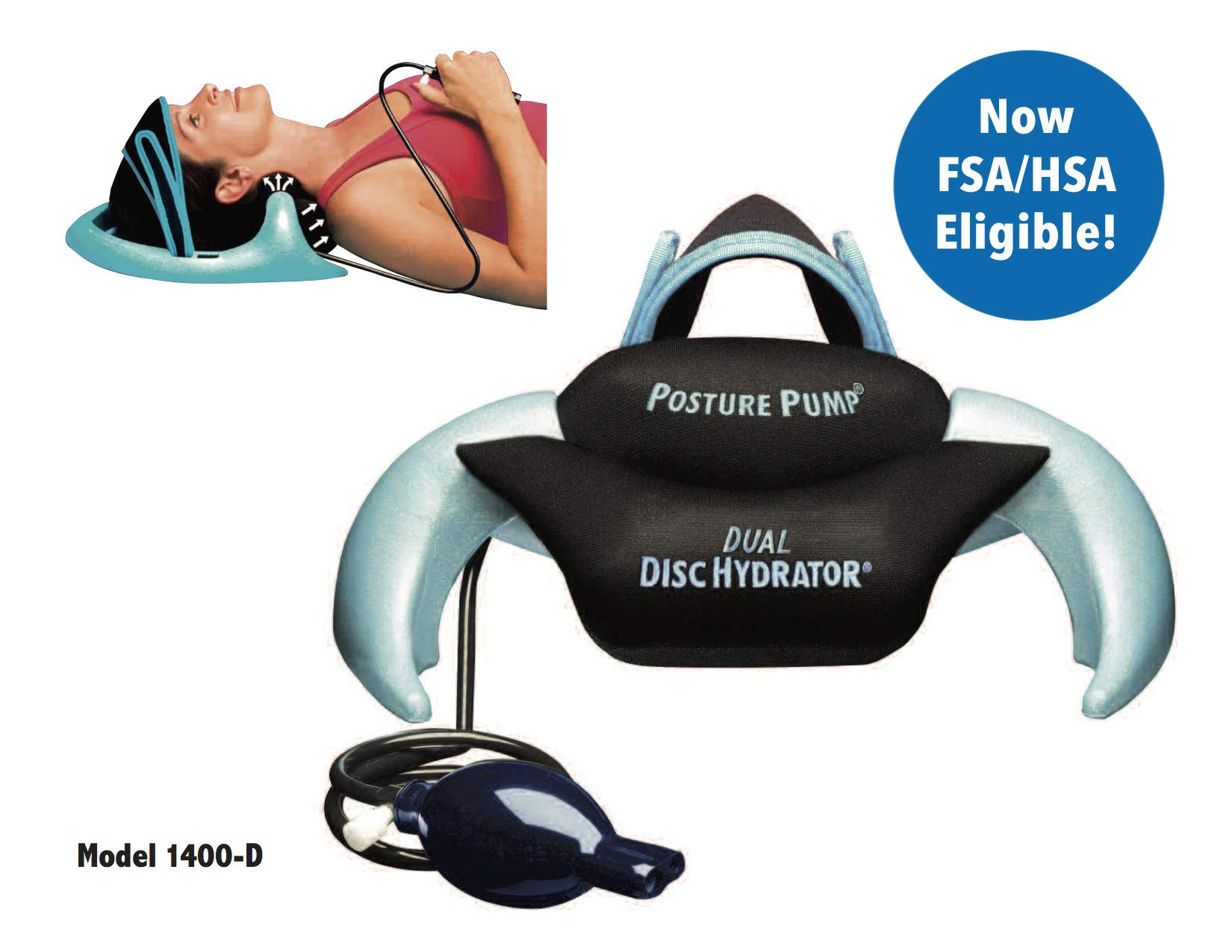 Posture Pump® 1400-D (Dual Disc Hydrator®)