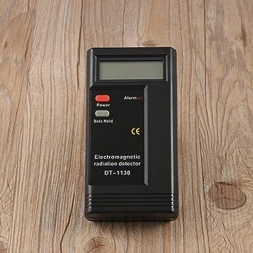 Lorenlli 1 UNIDS Electromagnético Digital LCD Detector de Radiación EMF Meter Dosímetro Tester En Computadoras Teléfono Hogar Equipo Eléctrico: Amazon.es: ...