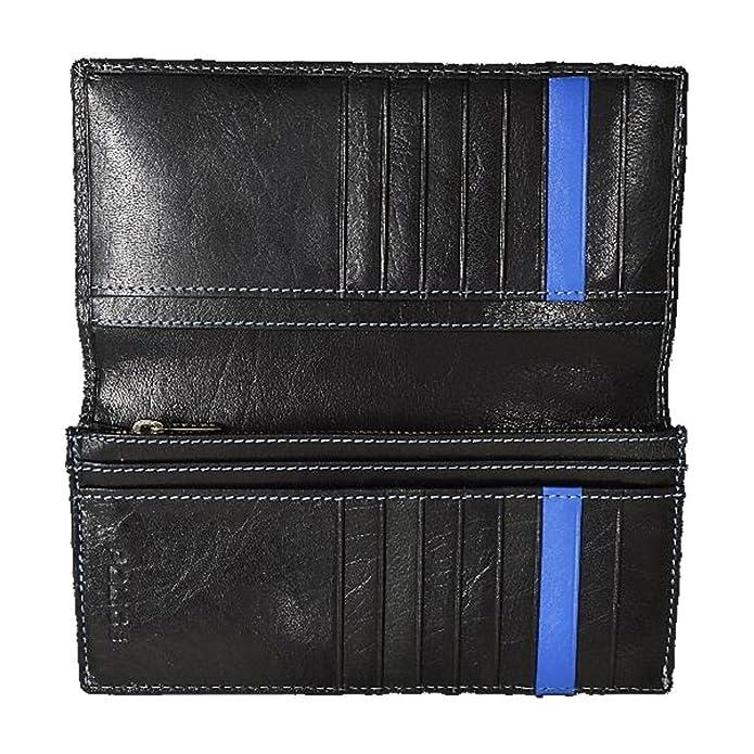 c4c57549ae09 Amazon | ポリス POLICE BASIC IV 長財布 メンズ ネイビー バッファロー 二つ折り 財布 紺 PA-59301-15 |  POLICE(ポリス) | 財布