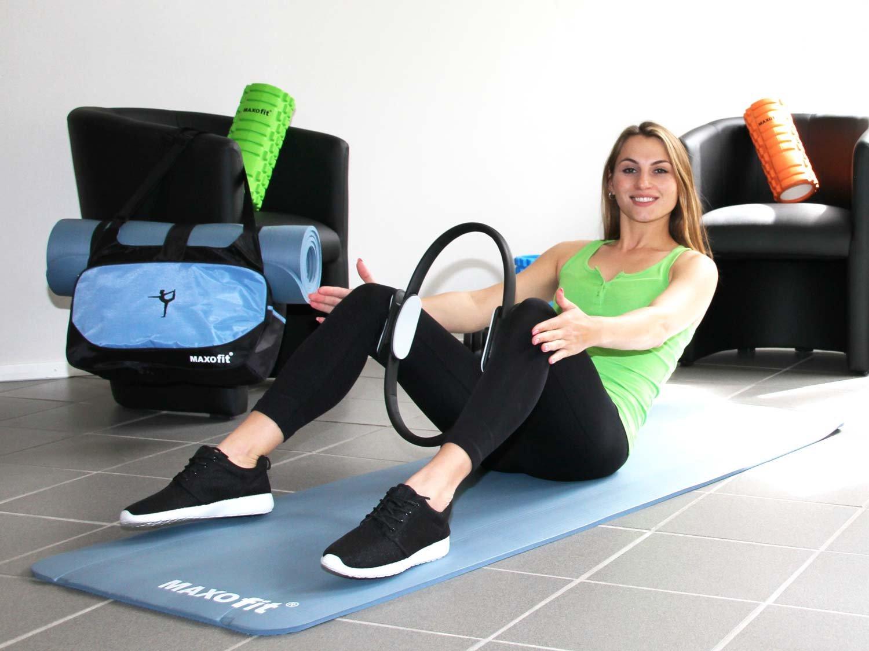 Arm MAXOfit/® Pilates Ring 37 cm f/ür gezieltes Training von Oberk/örper- und Beinmuskulatur mit Tasche 65262