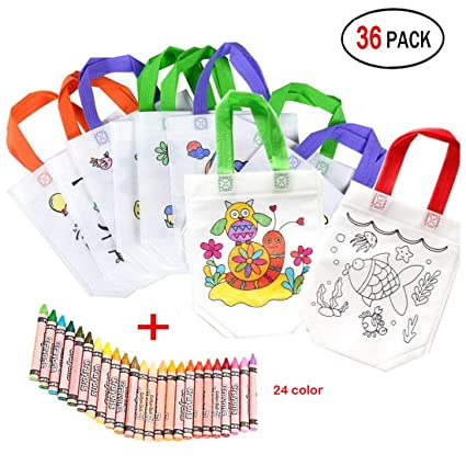 Bolsas para Colorear 12 Pcs (Diferentes Diseño) con 24 ...