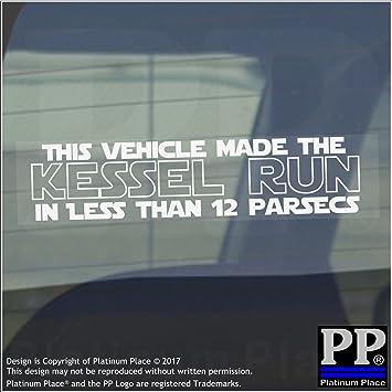 1x Fahrzeug macht die Kessel Run 12parsecs-window, Auto ...