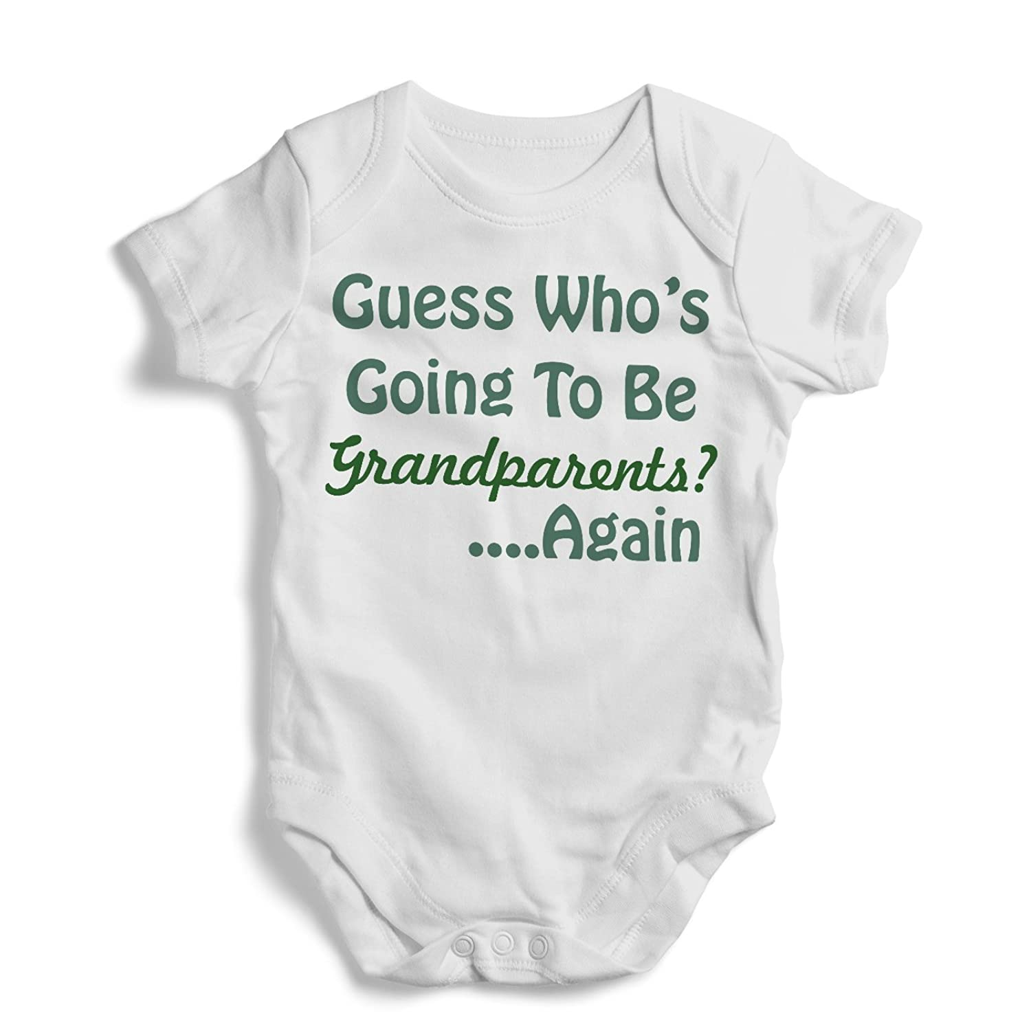 Amazon Guess who s going to be grandparents Again esie