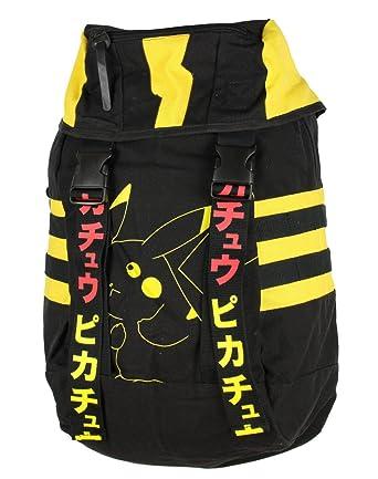 Pokemon Pikachu Canvas Ruksack Backpack  Amazon.co.uk  Clothing 690ea3505724f